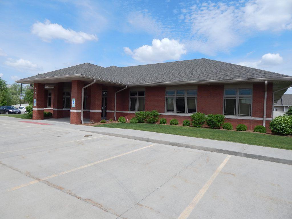 Main entrance to the CIKD Springfield facility